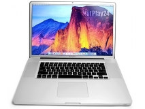 Wydajny Apple MacBook Pro 17 FullHD i7 NVIDIA 8GB SSD 250GB H-Sierra Laptop